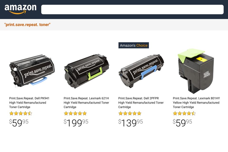 Print.Save.Repeat. on Amazon